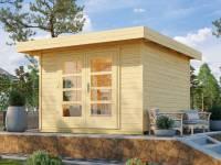 Weka Gartenhaus 126 Plus Gr. 3 natur