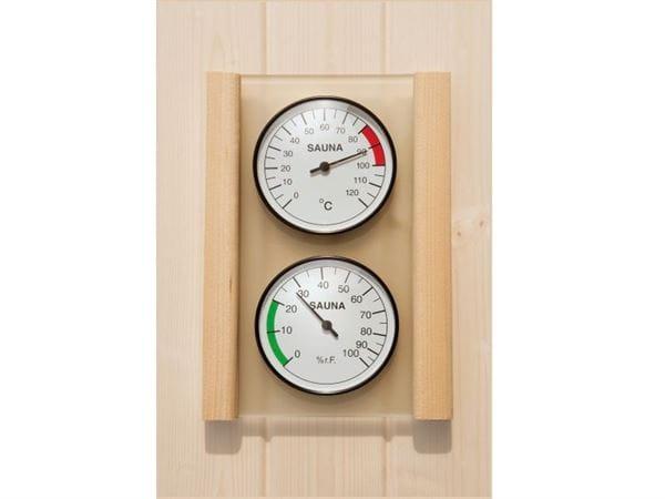 Weka Sauna Set Hygrometer und Thermometer