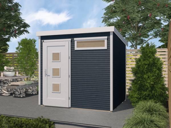 Weka Gartenhaus 171 Größe 2 28 mm anthrazit