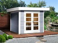 Weka Gartenhaus 126 Gr. 2 grau