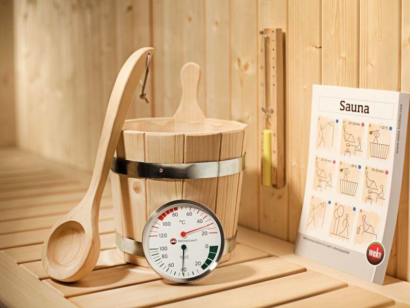 Weka Sauna Premium Zubehörset
