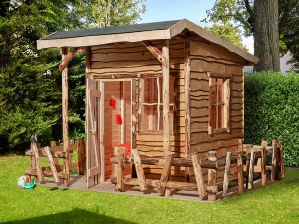 Weka Abenteuerhaus mit Terrasse