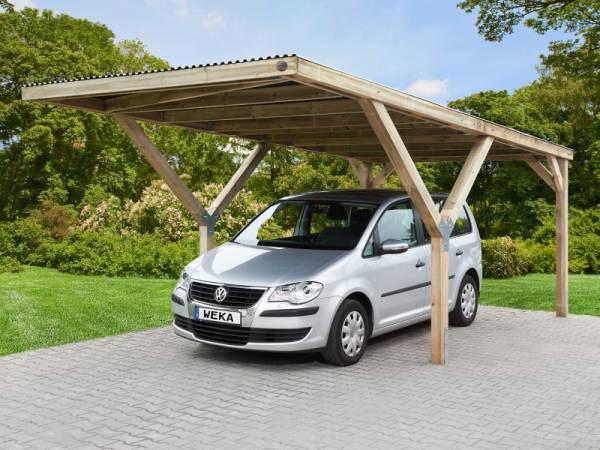 Weka Carport Y-Carport mit Stahl-Dacheindeckung