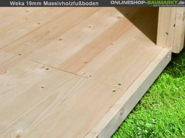 Weka Fußboden für Gartenhaus 209 Gr. 2