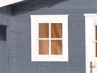 Weka Einzelfenster 21/28 mm 69 x 79 cm, weiß