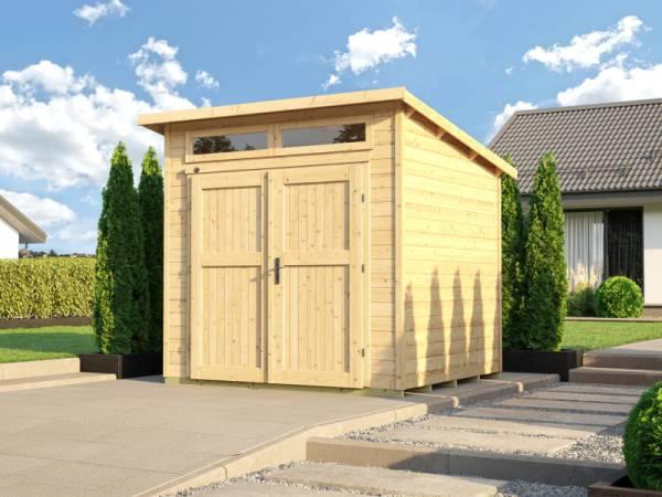 Weka Gartenhaus 264 Gr. 1 21 mm natur