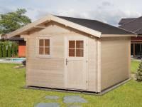 Weka Gartenhaus 107 Gr 3 Vordach 60 cm 28 mm