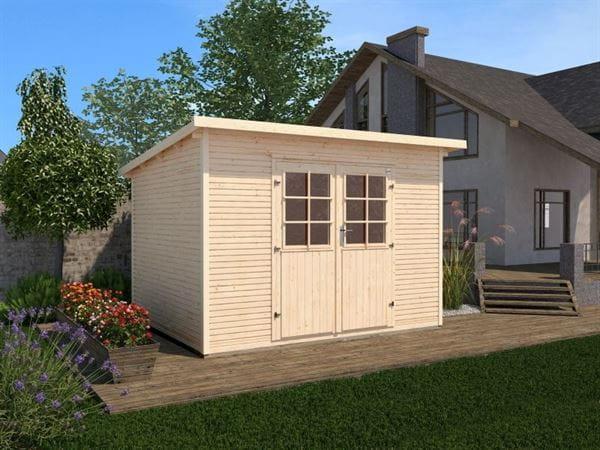 Weka Gartenhaus 219 Größe 1 28 mm natur