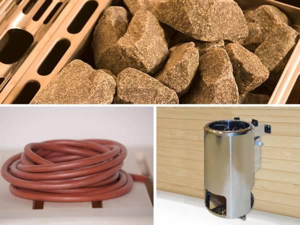 Weka Saunaofenset 9- 3,6 kW Kompakt inkl. Anschlusskabel