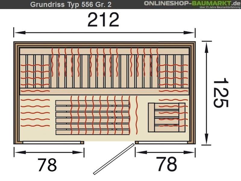 weka infrarot element fl chenstrahler w rmekabine osby 2 zum g nstigen preis online kaufen. Black Bedroom Furniture Sets. Home Design Ideas