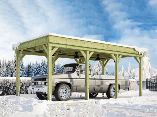 Weka Carport 609 kdi Premium-Carport