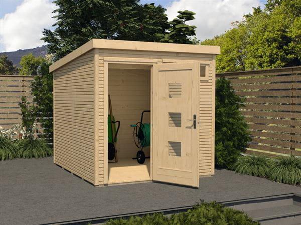 Weka Gartenhaus 171 Größe 2 28 mm natur