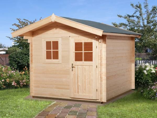 Weka Gartenhaus 106 Gr 2 Vordach 60 cm 28 mm