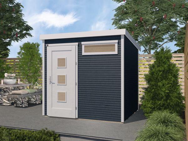 Weka Gartenhaus 171 Größe 1 28 mm anthrazit