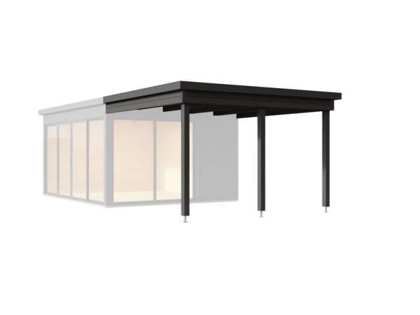 Weka Anbaudach Designhaus 412 Gr. 2 anthrazit