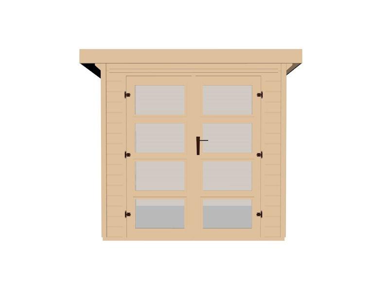 weka gartenhaus 321. Black Bedroom Furniture Sets. Home Design Ideas