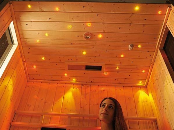Weka Sauna Farbvision Set A ohne Bedienteil