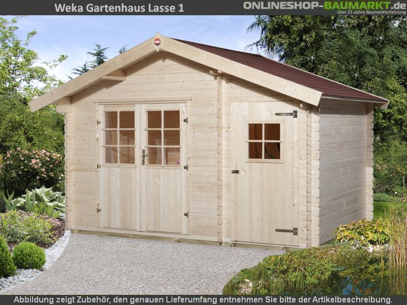 Weka Gartenhaus 253 Gr. 1 natur