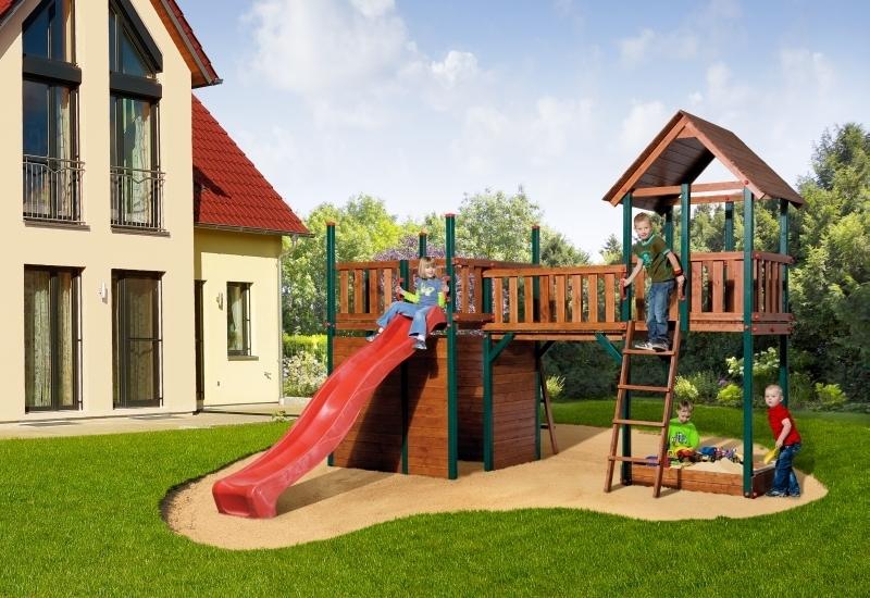 Weka Spiellandschaft 816 mit Satteldach