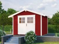 Weka Gartenhaus 122 Gr. 5 schwedenrot 28 mm