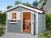 Weka Gartenhaus 123 Gr. 3 grau