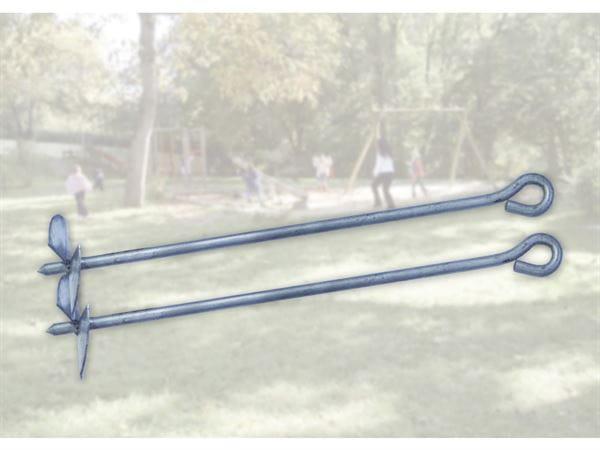 Weka Befestigungsanker Set 2 für Kinderspielgeräte