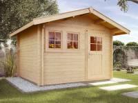 Weka Gartenhaus 139 Gr. 3 Vordach 60 cm