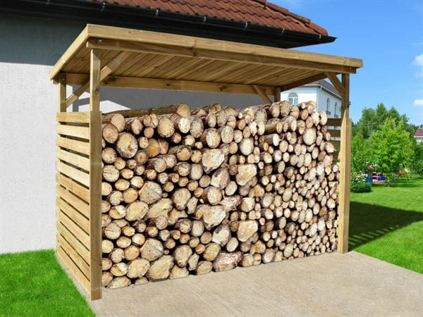 Weka Garten Brennholzlager / Unterstellplatz 663 B Gr. 2, 19 mm, kdi
