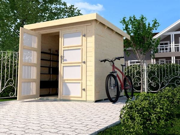 Weka Gartenhaus 321 Größe 2 natur
