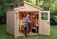 Weka Gartenhaus 226 Größe 1 natur