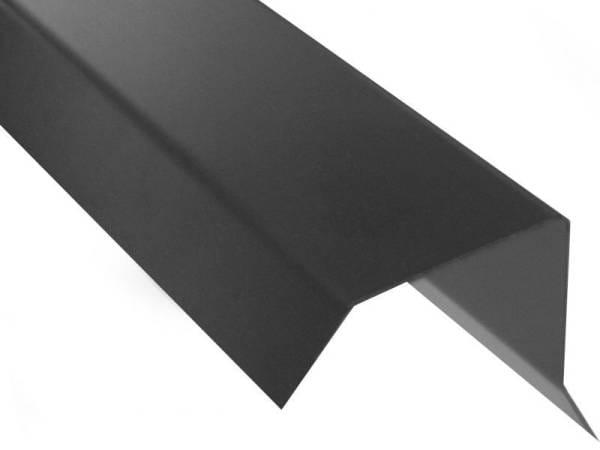 Blendenabdeckung Flachdach Typ 1c - bis 50 mm Blendendicke - 10 Stück