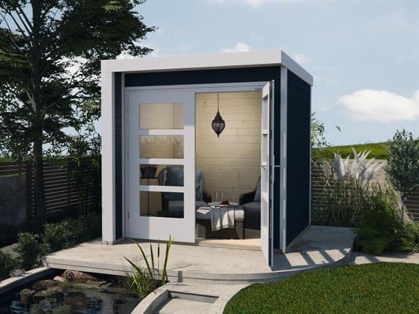 Weka Design-Gartenhaus 262 A anthrazit