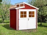 Weka Gartenhaus 226 Größe 1 schwedenrot