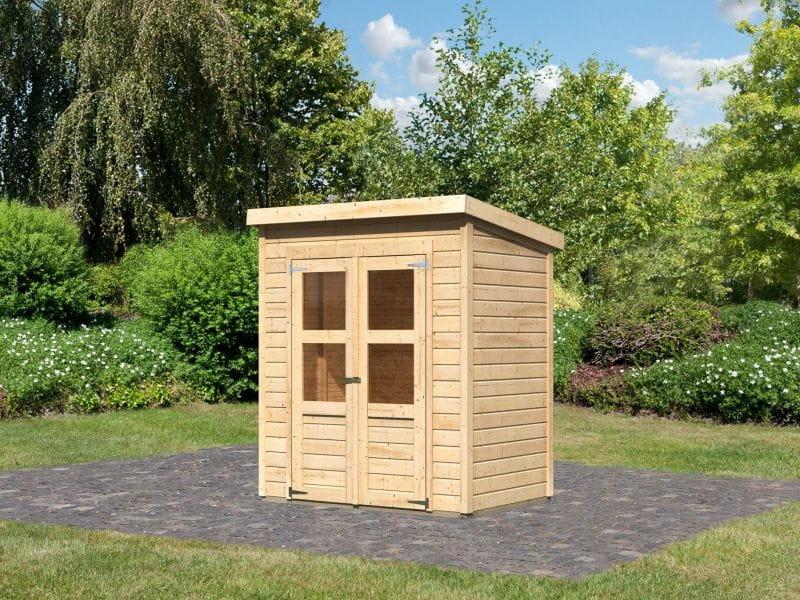 karibu gartenhaus ger tehaus systembau merseburg 2 68150. Black Bedroom Furniture Sets. Home Design Ideas