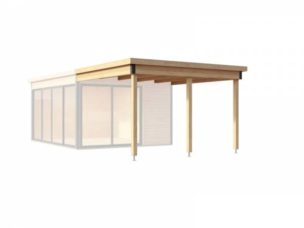 Weka Anbaudach Designhaus 412 Gr. 2 natur
