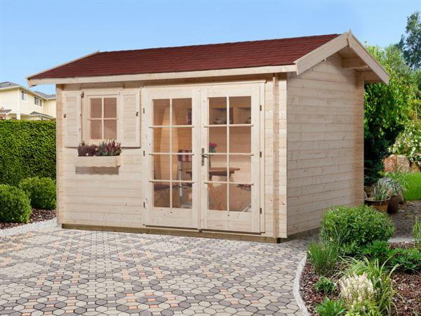 Weka Gartenhaus 163 Größe 1 28 mm
