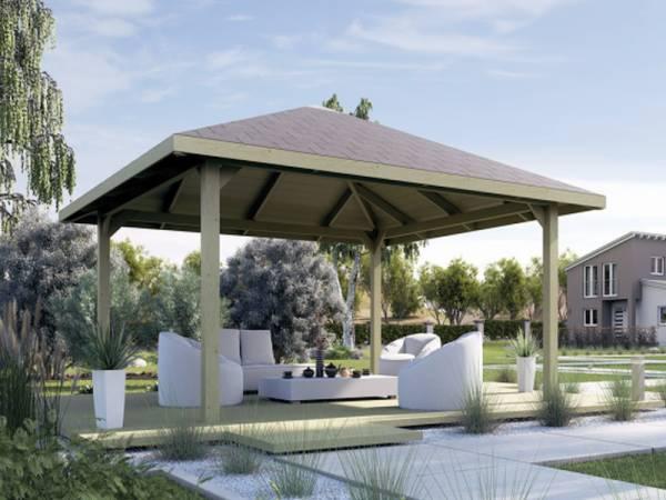 Weka Pavillon Gartenoase 651 A Größe 2