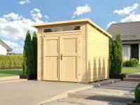Weka Gartenhaus 264 Gr. 2 21 mm natur