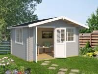 Weka Gartenhaus 401 Gr.1 hellgrau 40 mm