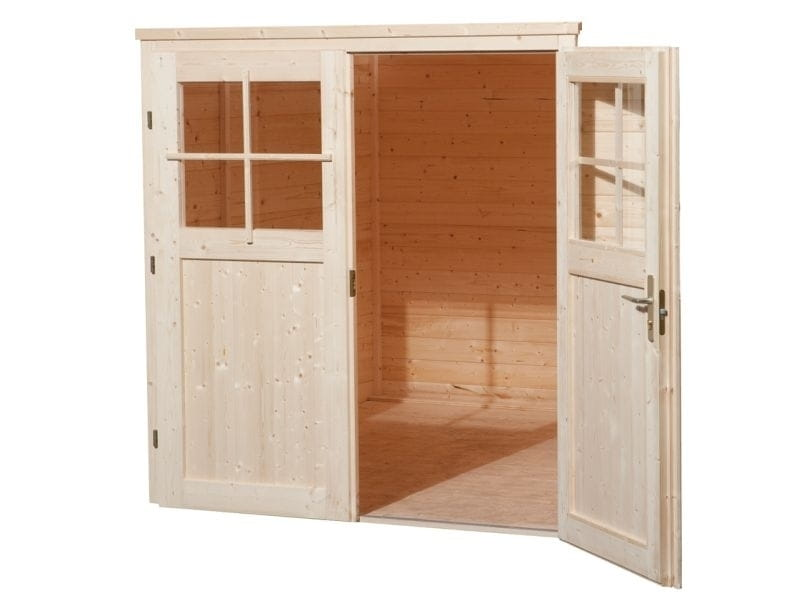 weka gartenhaus 219 gr e 1 natur f r ihren garten. Black Bedroom Furniture Sets. Home Design Ideas