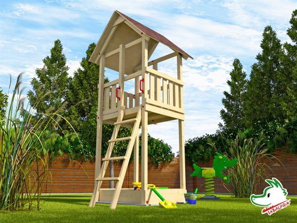 Weka Kinderspielturm 816 E mit Satteldach
