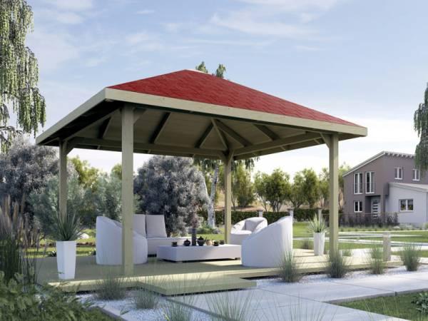 Weka Pavillon Gartenoase 651 A Größe 2 Sparset