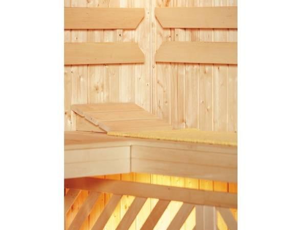 Weka Sauna Komfortpaket 2