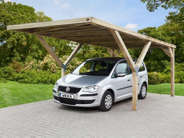 Weka Carport Y-Carport ohne Dachplatten