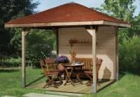 Weka Pavillon Gartenoase 651 Größe 2 Sparset