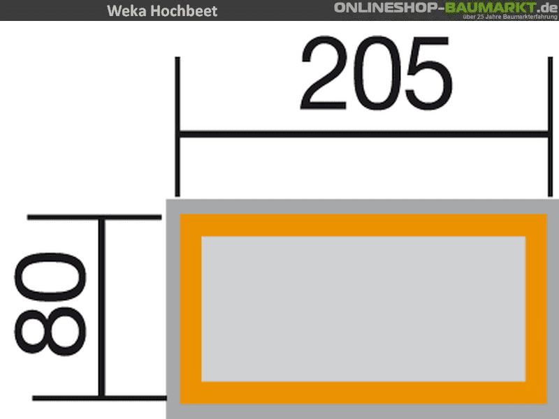Weka Hochbeet 669 C Zum Gunstigen Online Preis Kaufen
