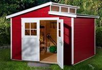 Weka Gartenhaus 226 Größe 4 schwedenrot