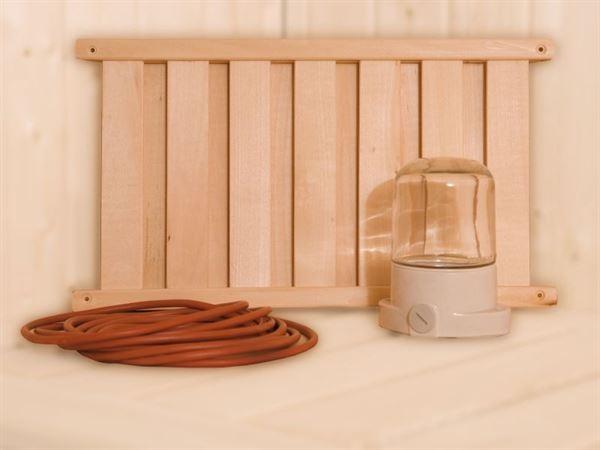 Weka Sauna-Leuchten-Set